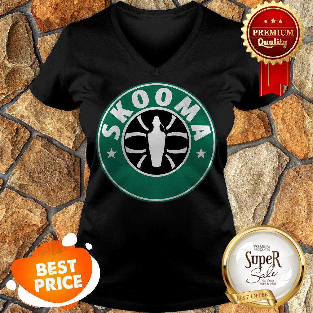 Nice Skooma Mashup Starbucks The Elder Scrolls V Skyrim V-neck