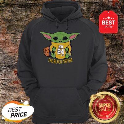 Official Baby Yoda Kobe Bryant The Black Mamba Hoodie