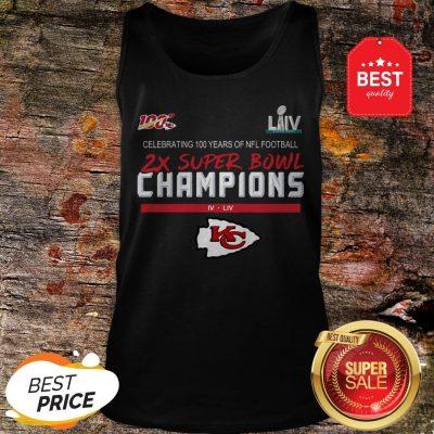 Official Kansas City Chiefs 2X Super Bowl Champions Tank Top