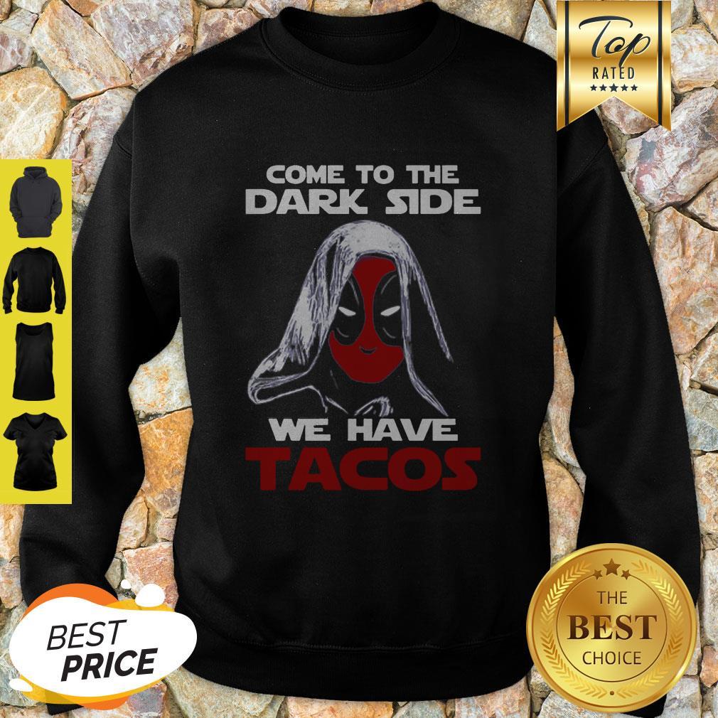 Star Wars Deadpool Come To The Dark Side Sweatshirt