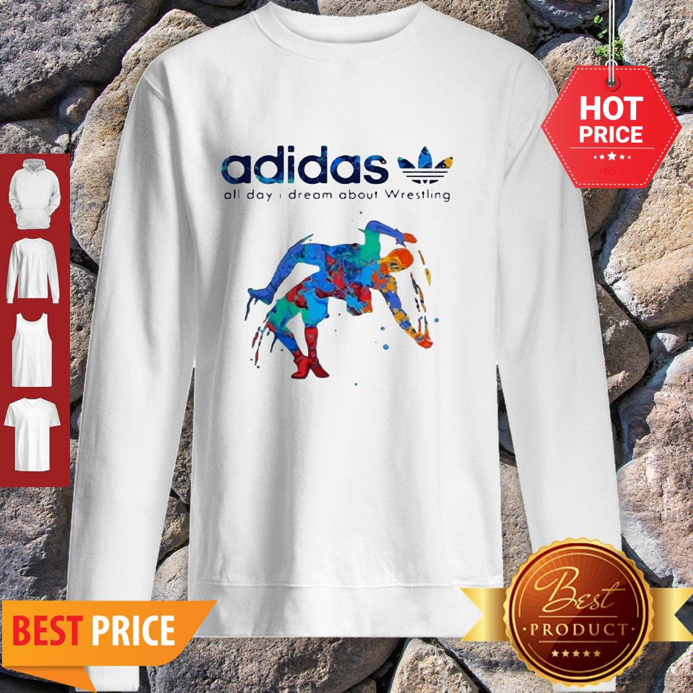 Adidas All Day I Dream About Wrestling Colors Sweatshirt