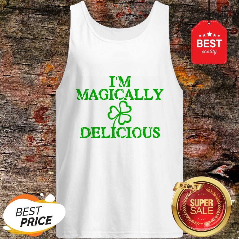 I'm Magically Delicious Sexy Adult St. Patricks Day Tank Top