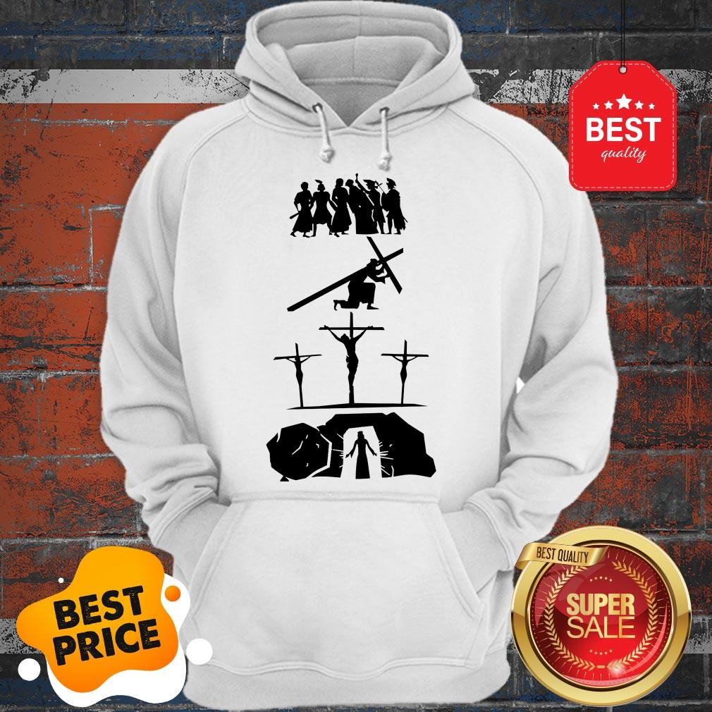 Official Passion Of Jesus Easter Sunday Hoodie