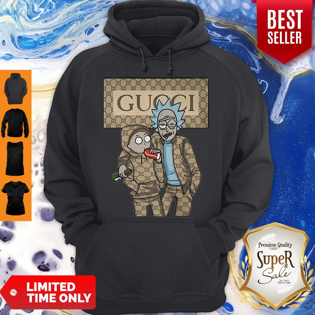 Official Rick And Morty Gucci Hoodie