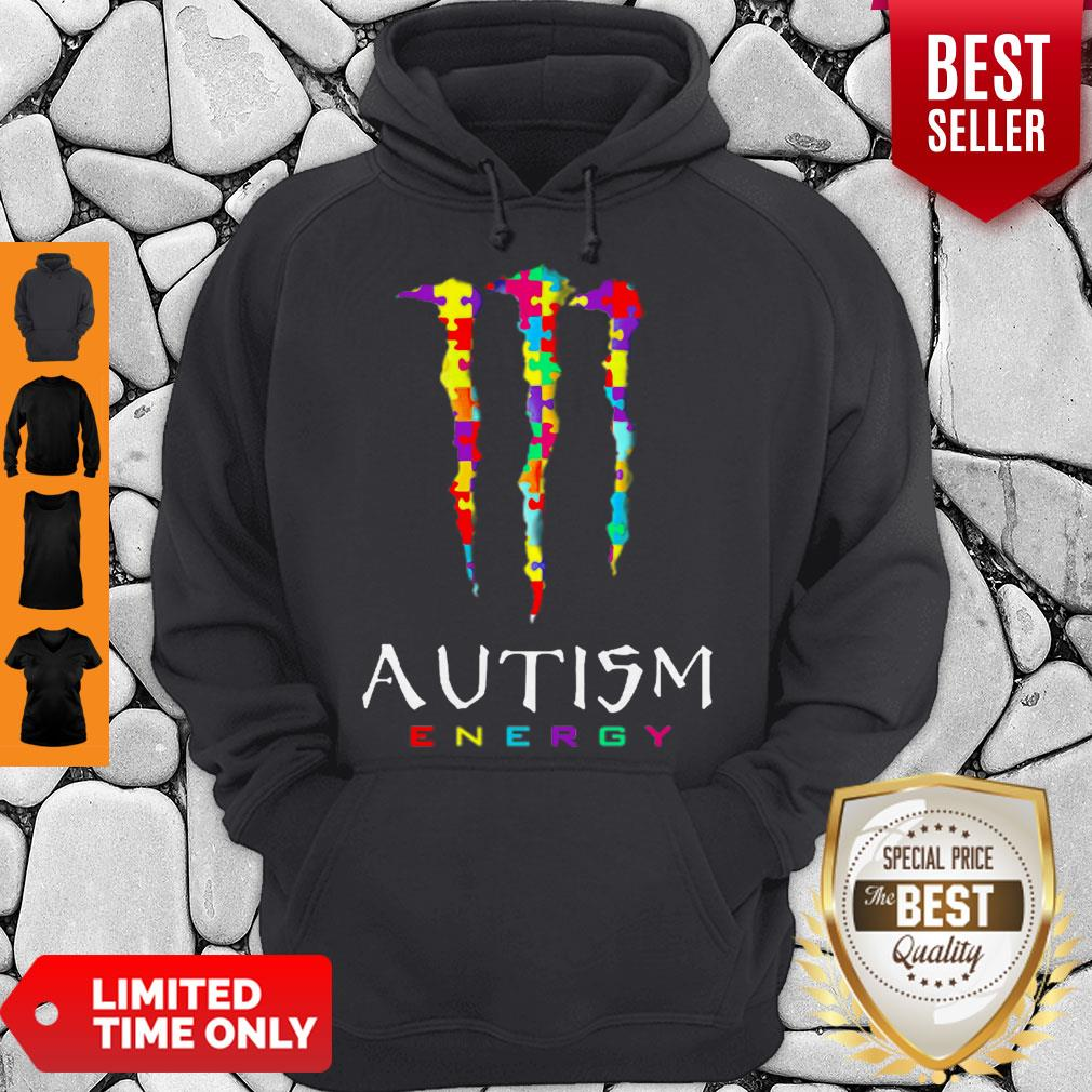 Official Monster Autism Energy Hoodie
