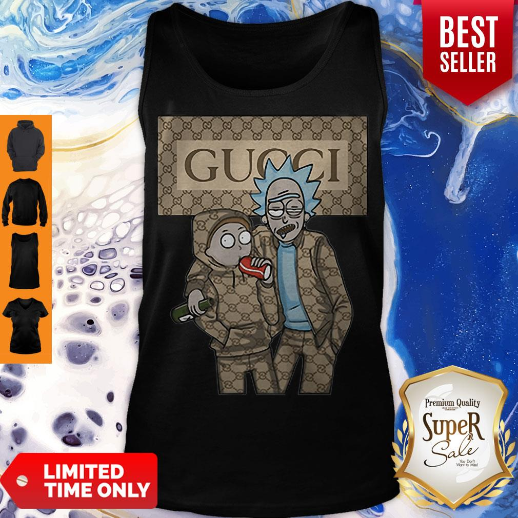 Official Rick And Morty Gucci Tank Top