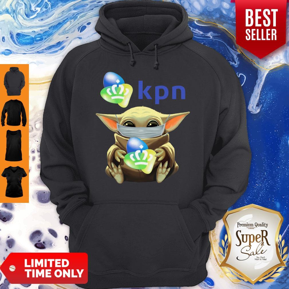 Funny Baby Yoda Mask Hug KPN Hoodie
