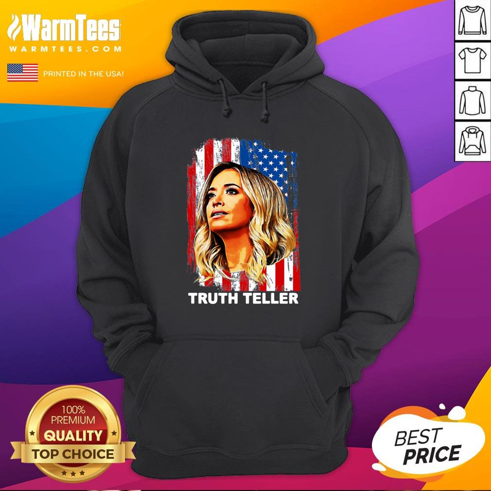 Attractive Kayleigh McEnany Truth Teller United States Hoodie - Design By Warmtees.com