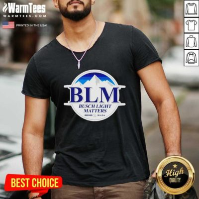 Busch Light Matters V-neck - Design By Warmtees.com