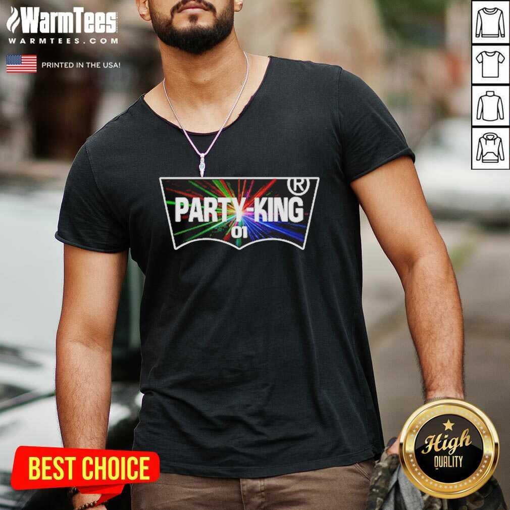 Party-King 01 V-neck - Design By Warmtees.com