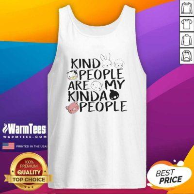Kind People Are My Kinda People Tank Top - Design By Warmtees.com