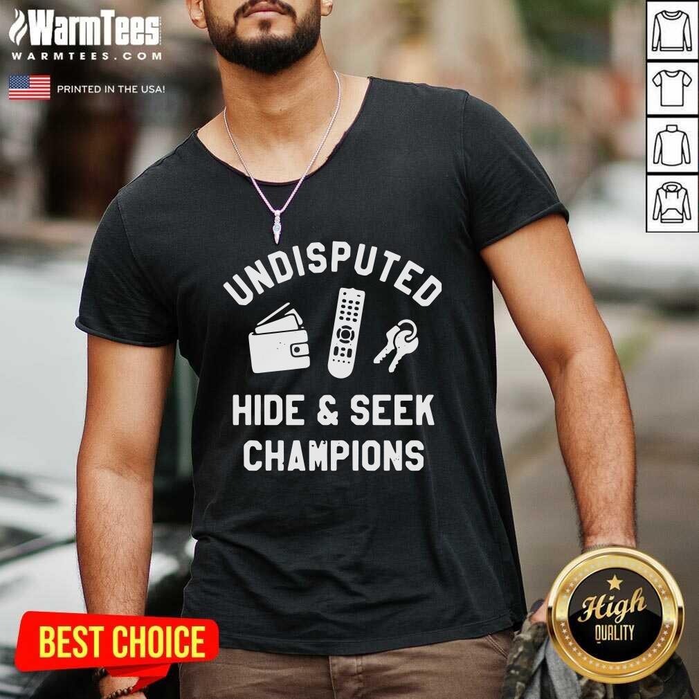 Undisputed Hide And Seek Champions V-neck