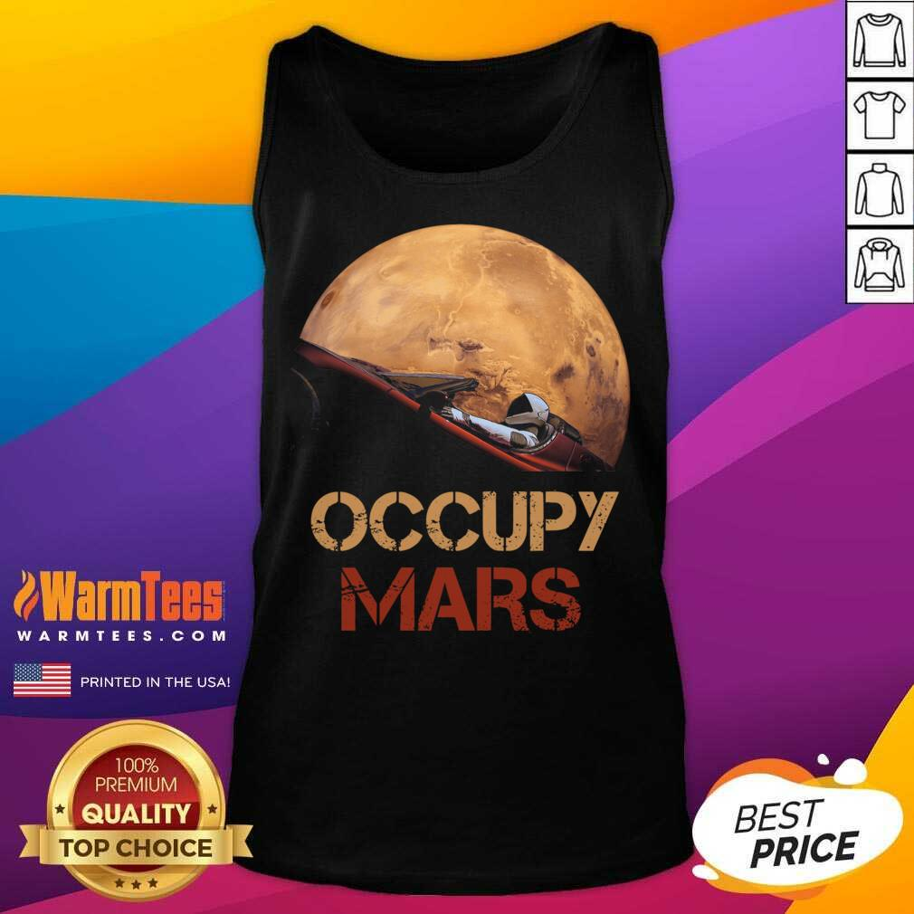 The Occupy Mars Starman Tank Top