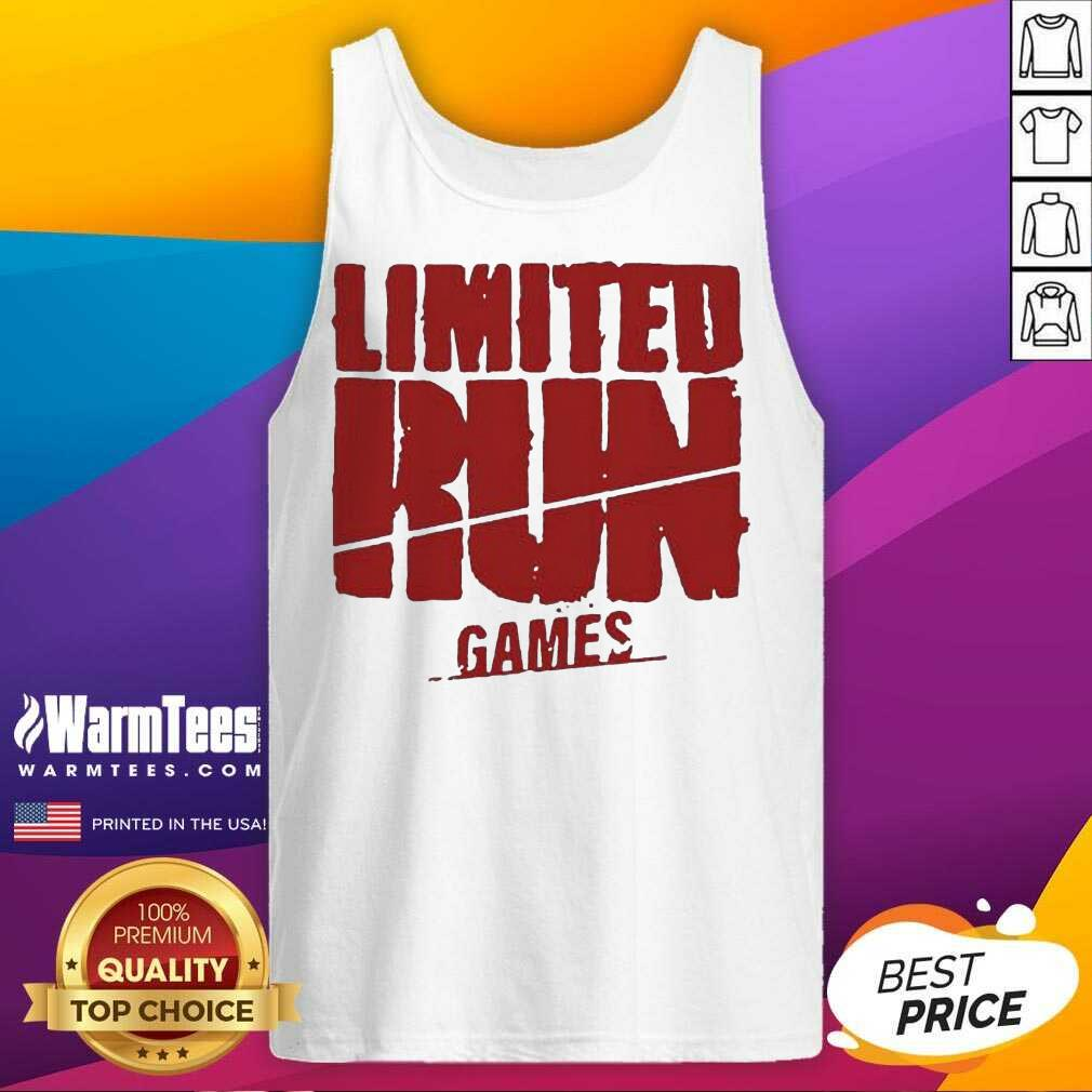 Nice Limited Run Games Relaxed 56588 Tank Top