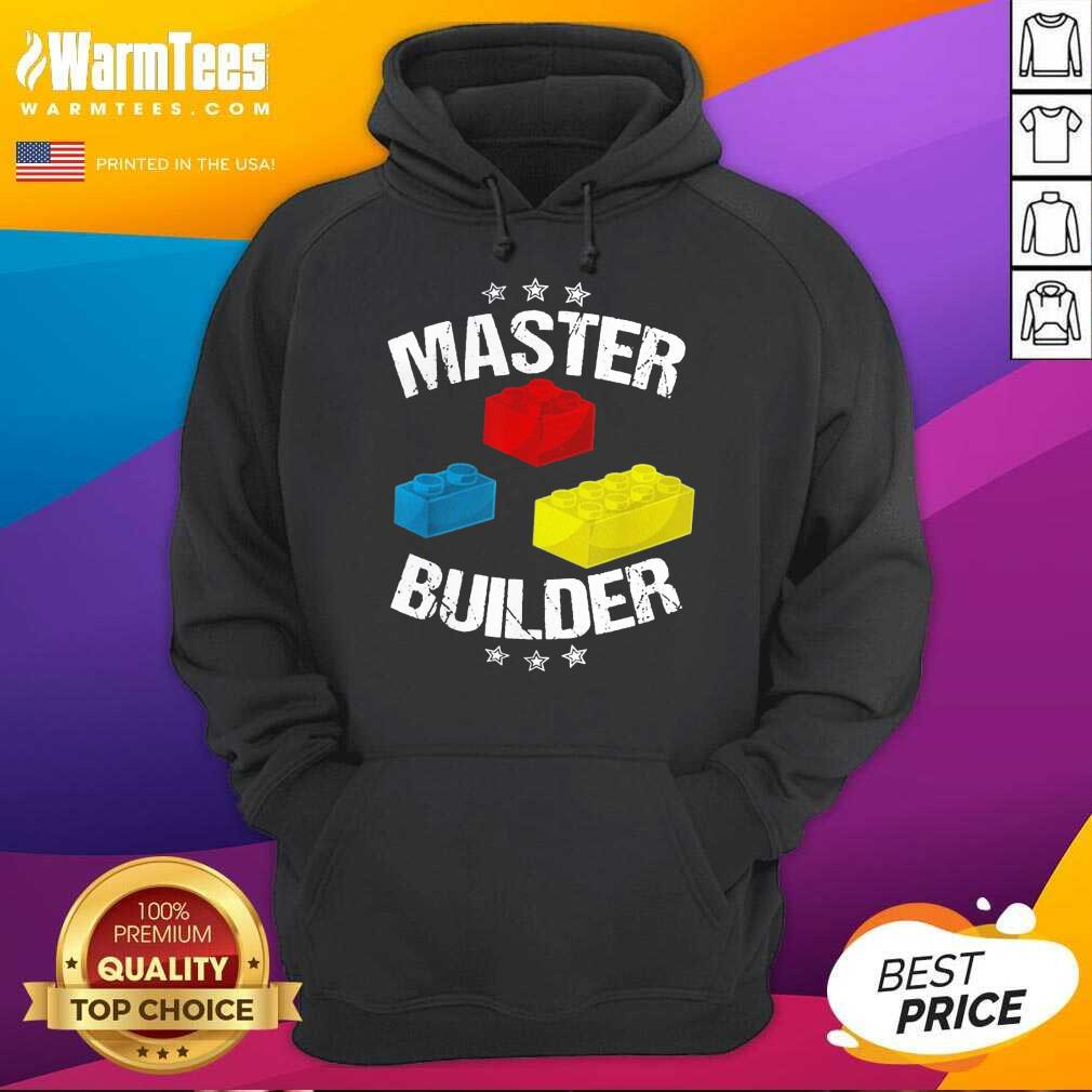Nice Master Builder Overjoyed 456 Hoodie
