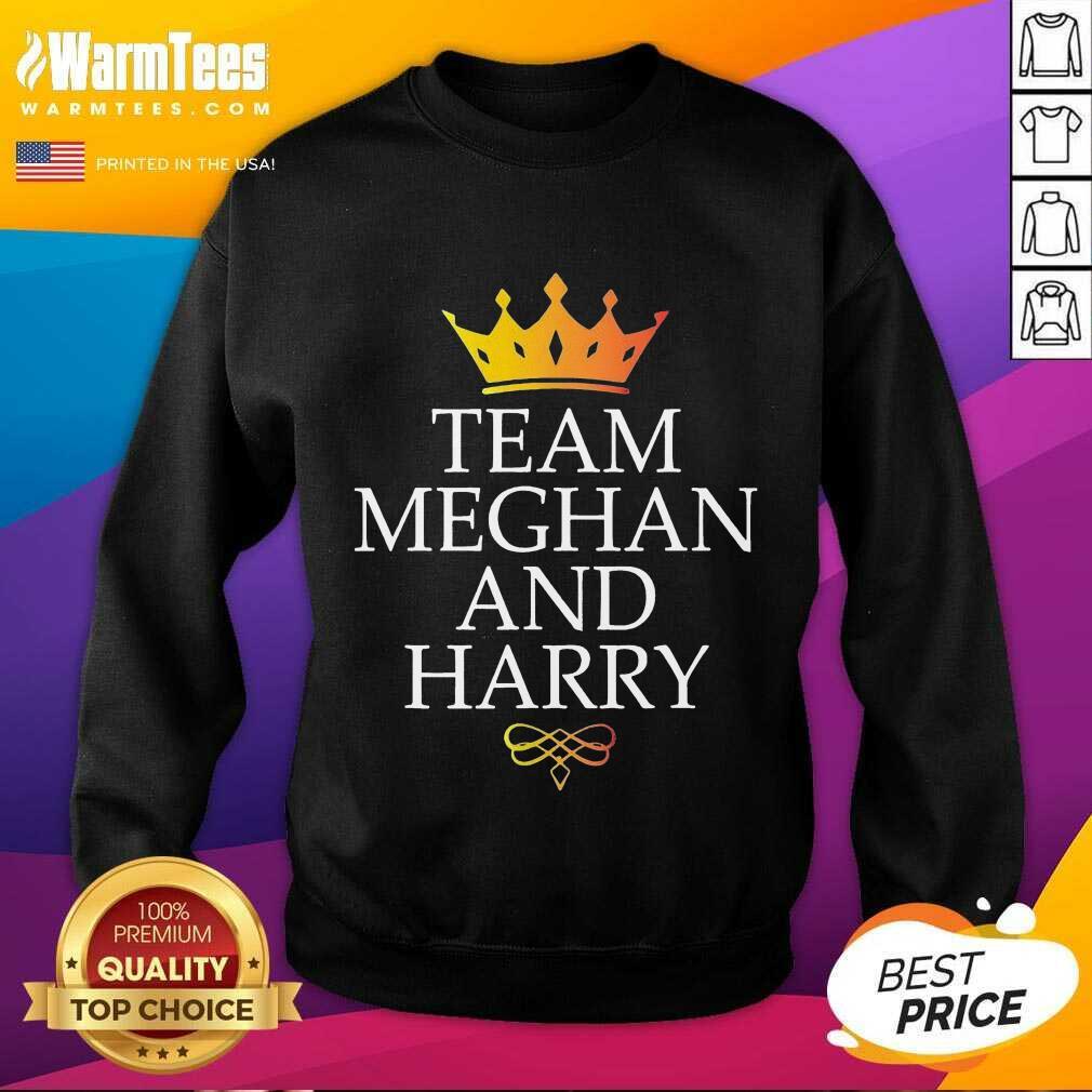 Original Team Meghan And Harry Great 4 Sweatshirt