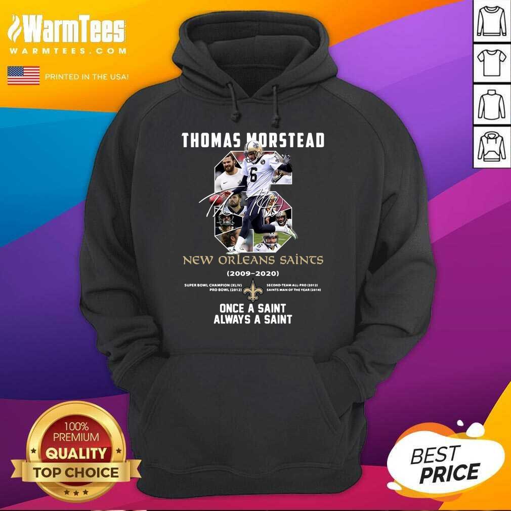Premium 6 Thomas Morstead New Orleans Hoodie