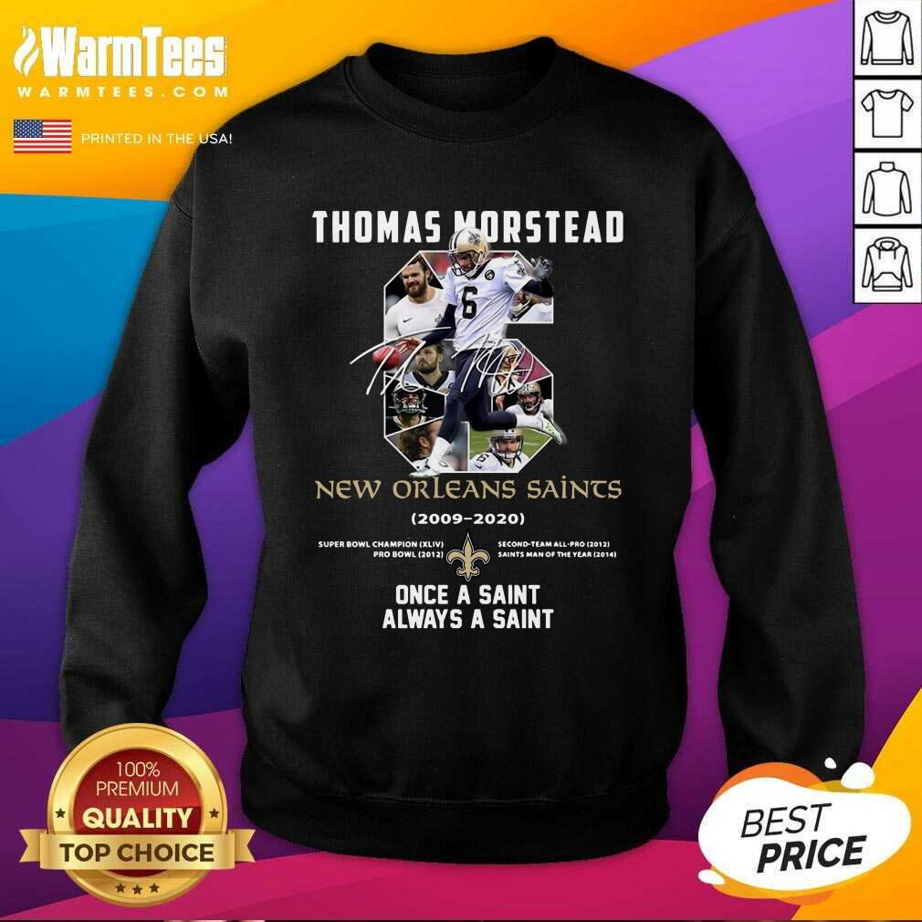 Premium 6 Thomas Morstead New Orleans Sweatshirt