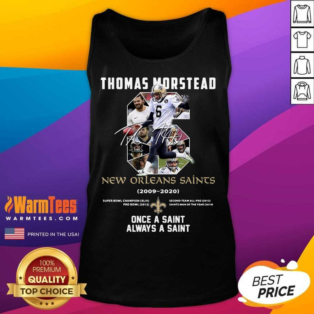 Premium 6 Thomas Morstead New Orleans Tank Top