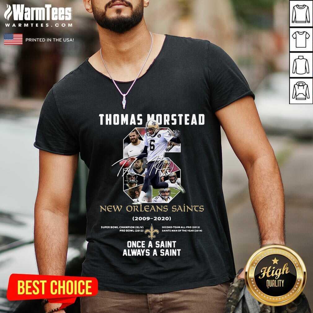 Premium 6 Thomas Morstead New Orleans V-neck