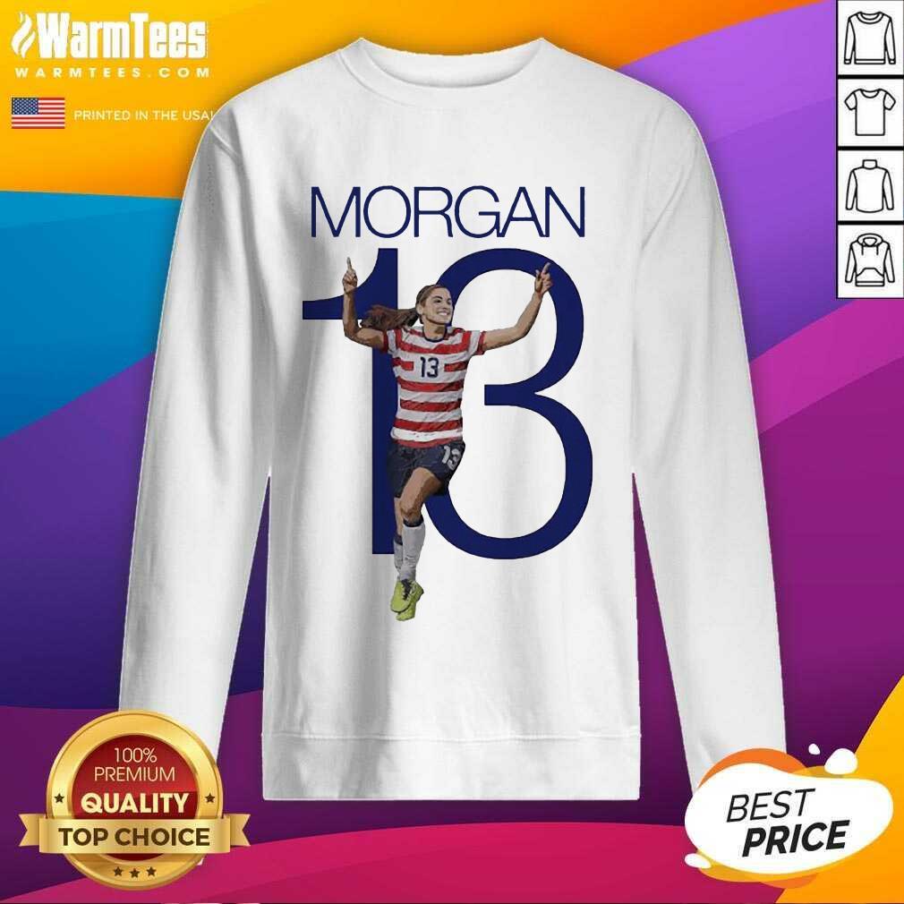 Premium Morgan Over The Moon Great 13 Sweatshirt