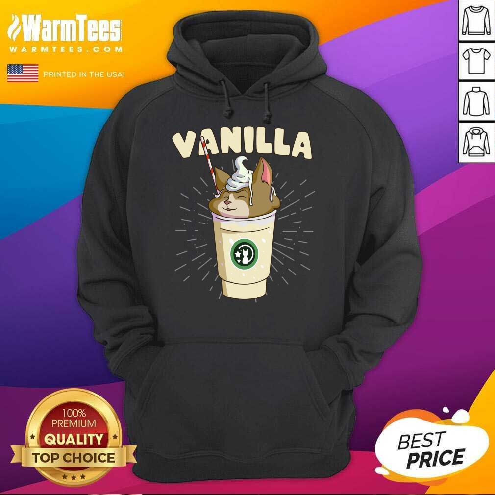 Pretty Vanilla Cappuccino Cute Cat 57 Hoodie