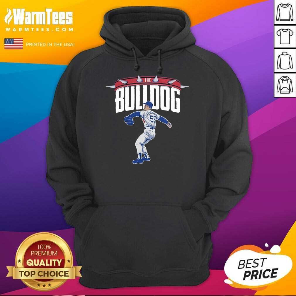 Top Orel Hershiser the Bulldog 55 Hoodie
