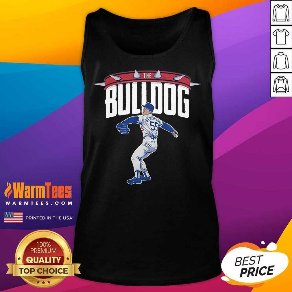 Top Orel Hershiser the Bulldog 55 Tank Top