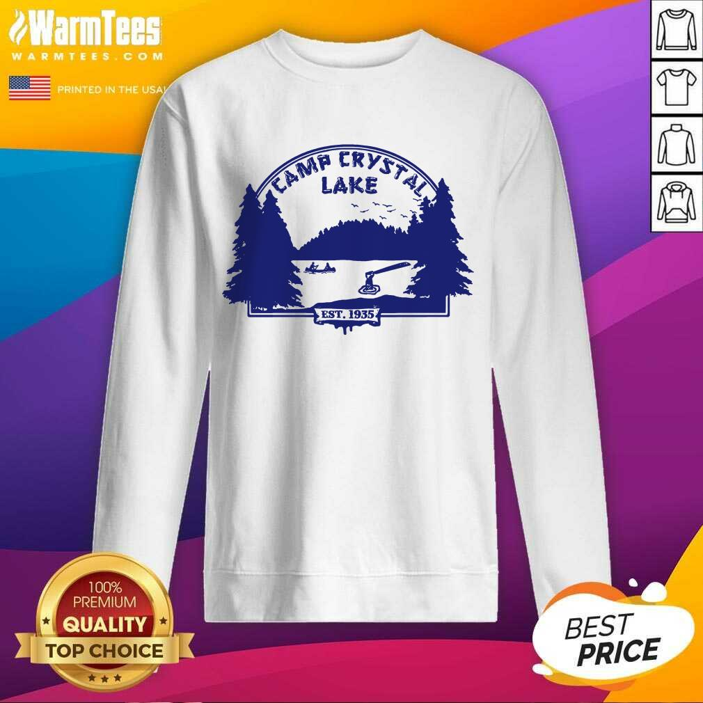 Awesome Camp Crystal Lake Sweatshirt