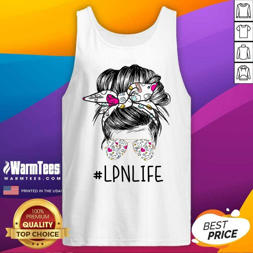 Awesome Girl Glasses LPN Life Tank Top