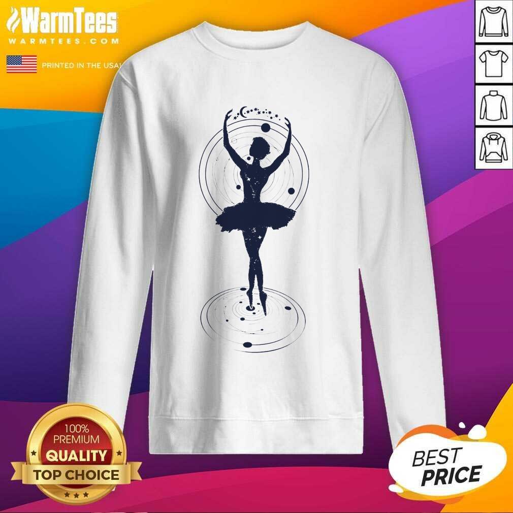 Fantastic Ballet Art Ladies Sweatshirt