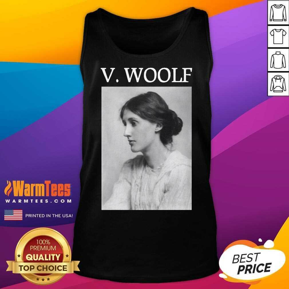 Fantastic Virginia Woolf Tank Top