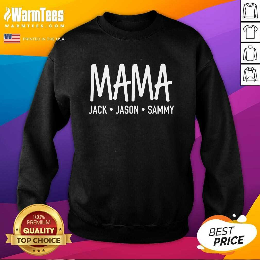 Happy Mama Jack Jason Sammy Sweatshirt