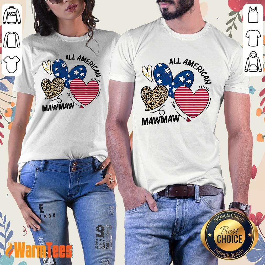 All American Mawmaw Ladies Tee