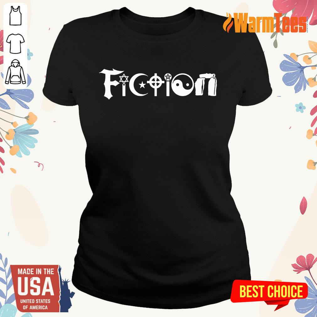 All The World's Religions Are Fiction Ladies Tee