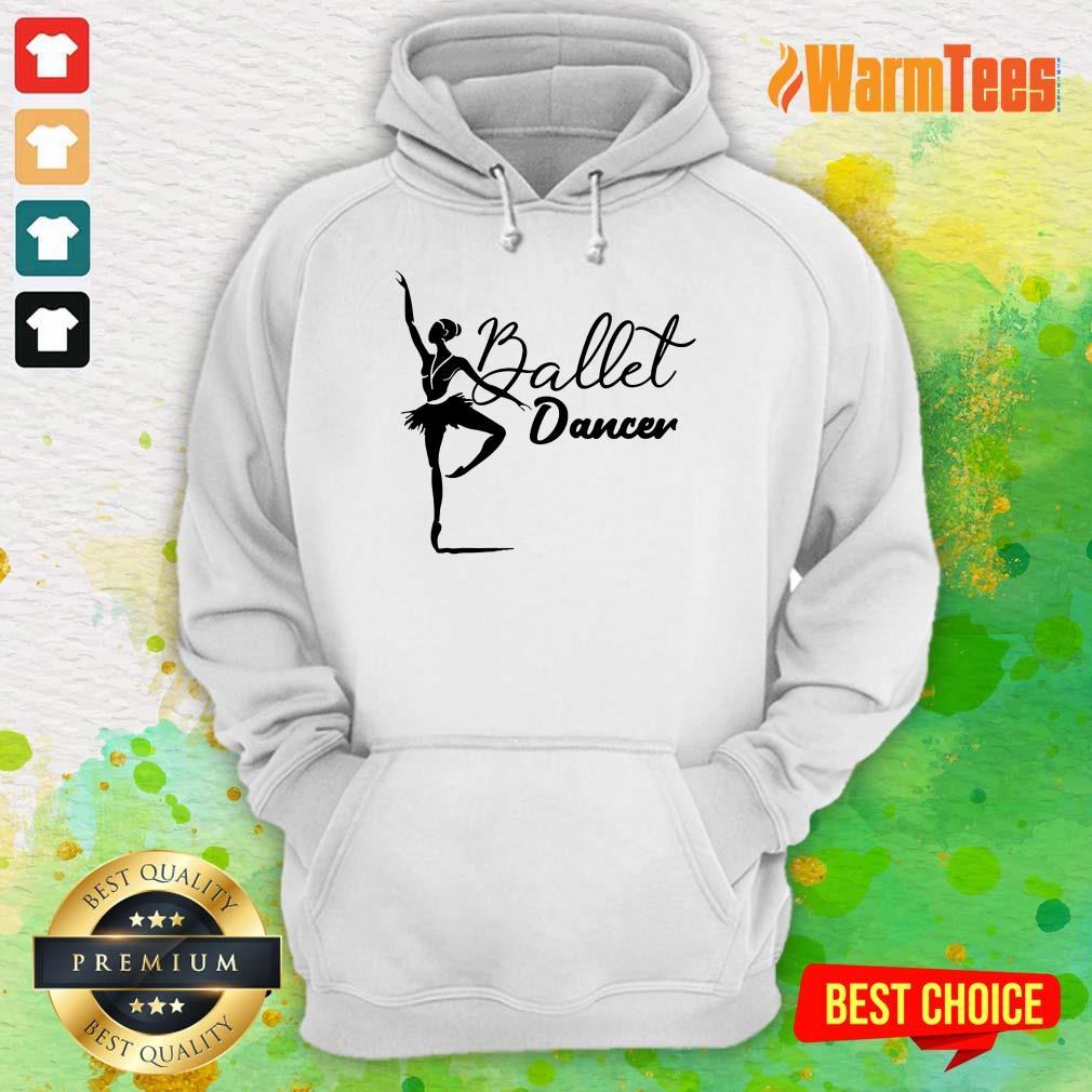 Ballet Dancer Hoodie