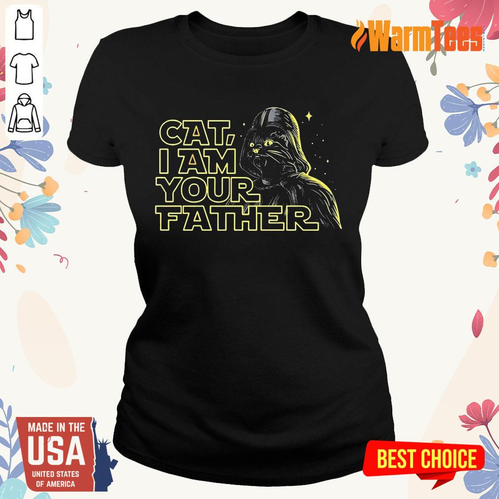 Cat I Am Your Father Ladies Tee