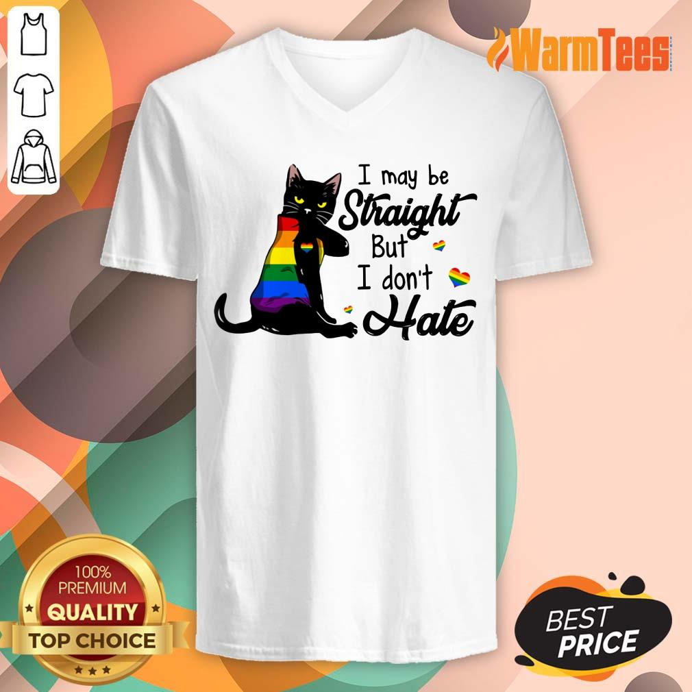I May Be Straight But I Don't Hate LGBT V-neck