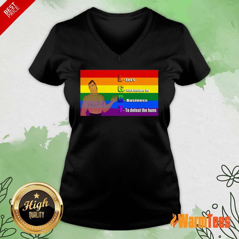 LGBT V-neck