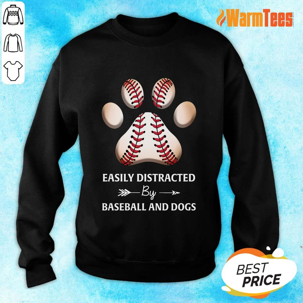 Paw By Baseball And Dogs Sweater