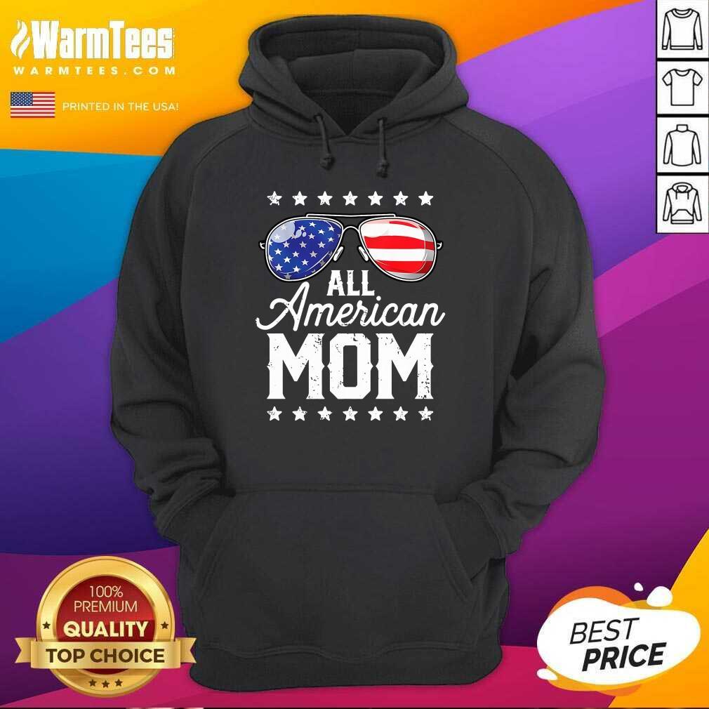 All American Mom Hoodie