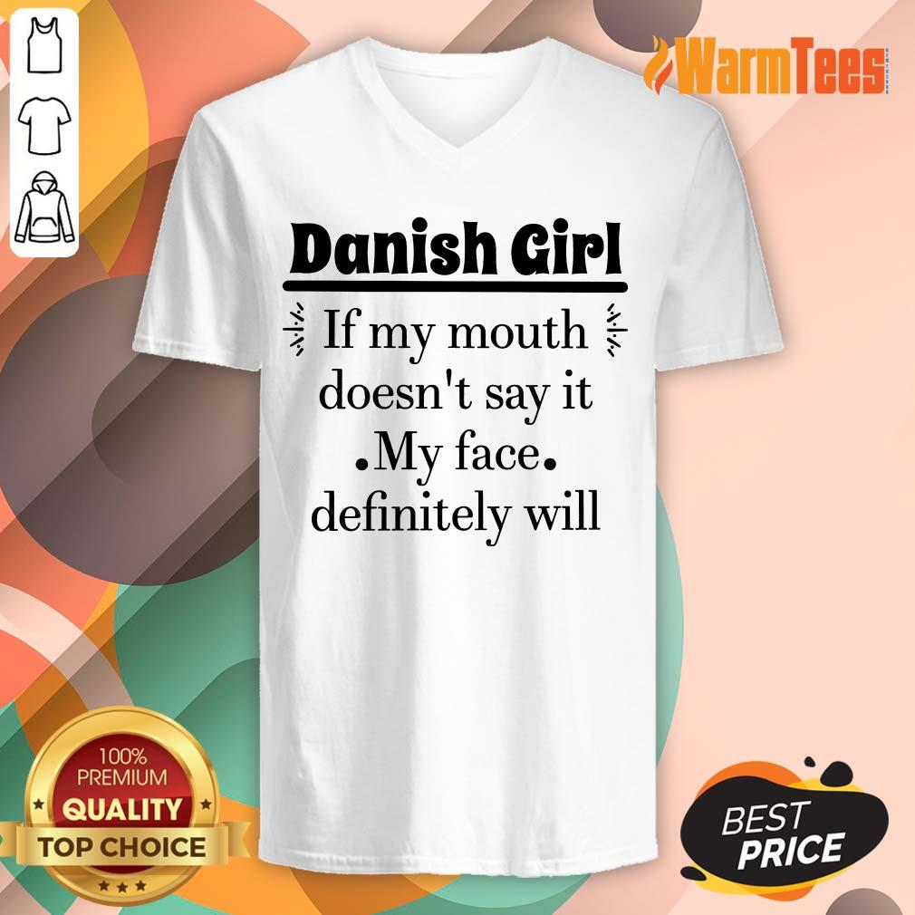Danish Girl Of My Mouth V-neck