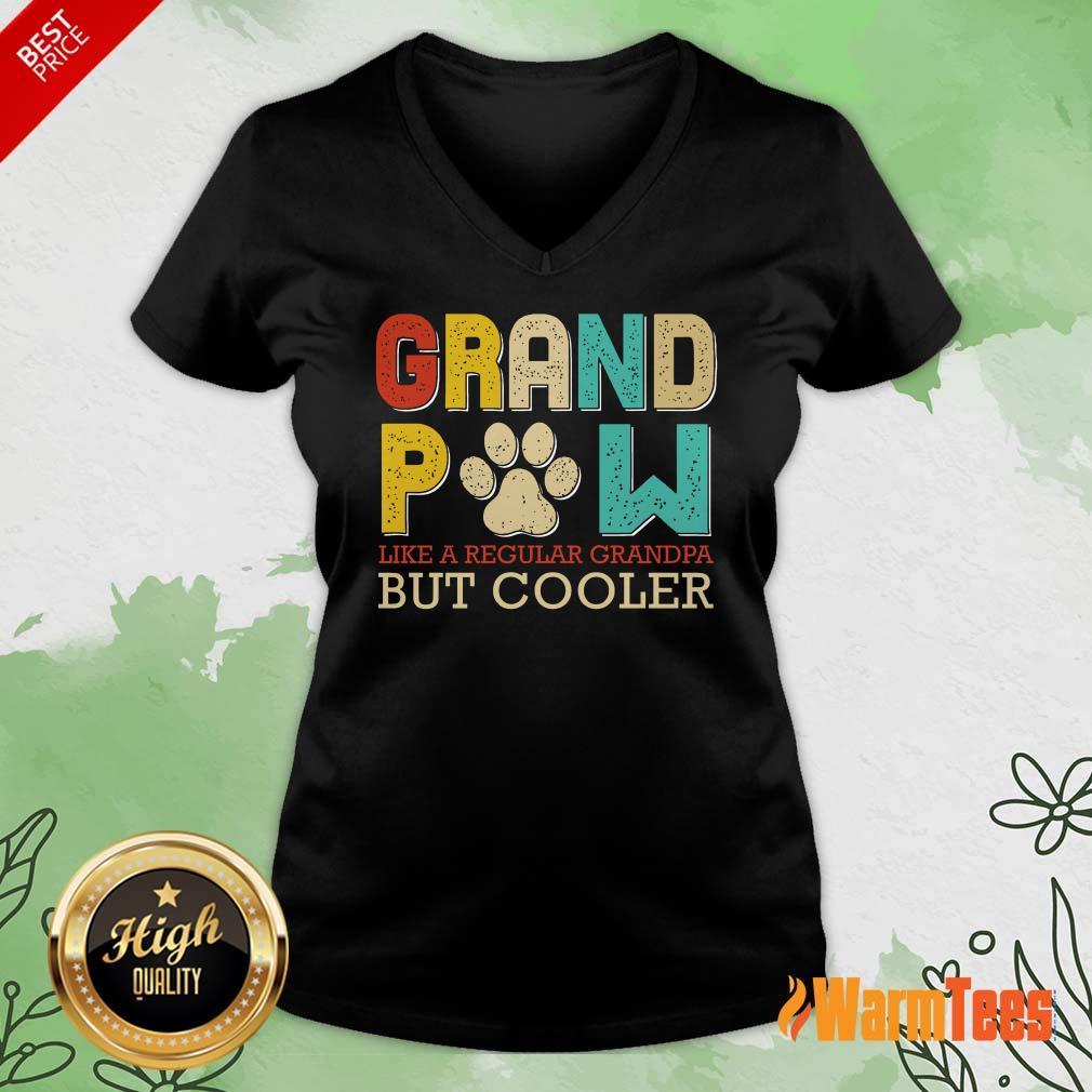 Dog Grand Paw But Cooler V-neck