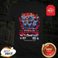 2020 NBA All-Star Champions Team Lebron 157 Team Giannis 155 Shirt