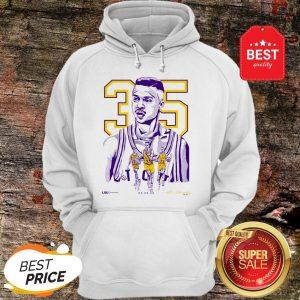 Nice 35 Mahmoud Abdul-Rauf LSU Tigers Hoodie