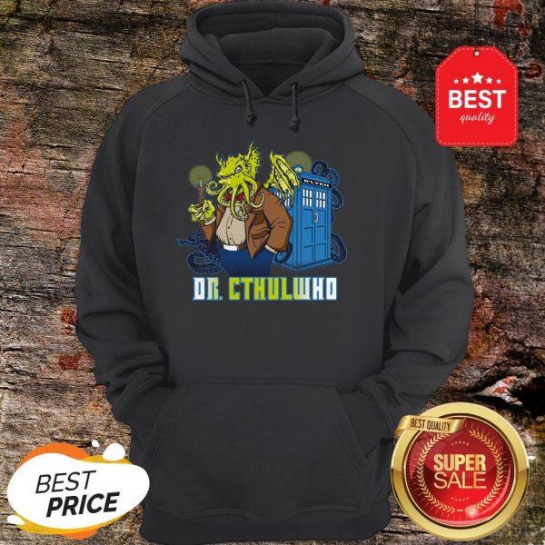 Nice Dr Cthulhu Who Hoodie