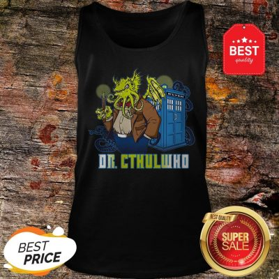 Nice Dr Cthulhu Who Tank-top