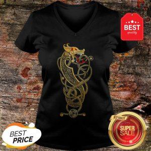Nice Dragon Norse Myths V-neck