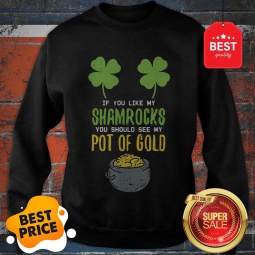 Adult Women St Patricks Day Shirt Irish Girls Naughty Sexy Sweatshirt