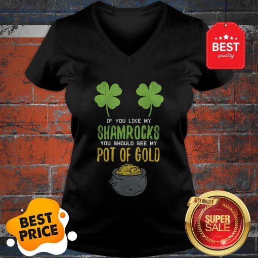 Adult Women St Patricks Day Shirt Irish Girls Naughty Sexy V-neck